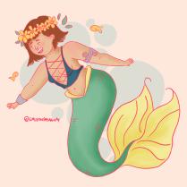 La sirena gordita